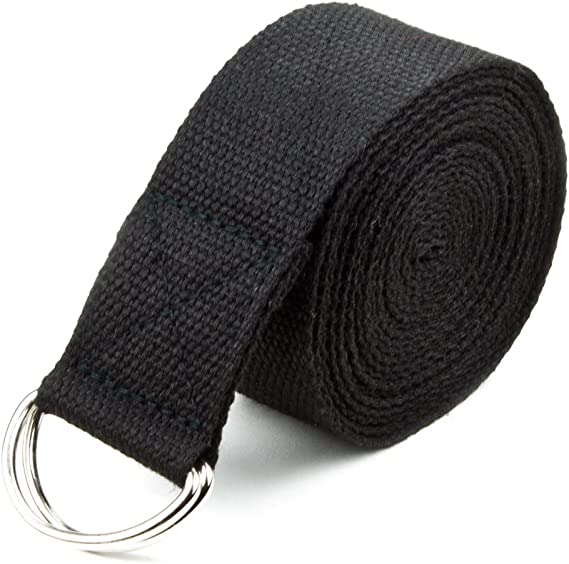 9-ft Details about  /MeFree Organic Cotton Yoga Strap All Levels of Asanas