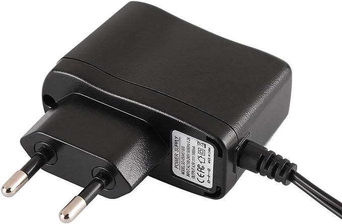60HZ 0.2A Output6V 1000mA L/éger Large Compatible Plug and Play Ballylelly Adaptateur Secteur EU AC100-240V 50