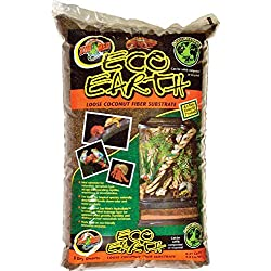 Zoo Med Eco Earth Loose Coconut Fiber Substrate, 8 Quarts