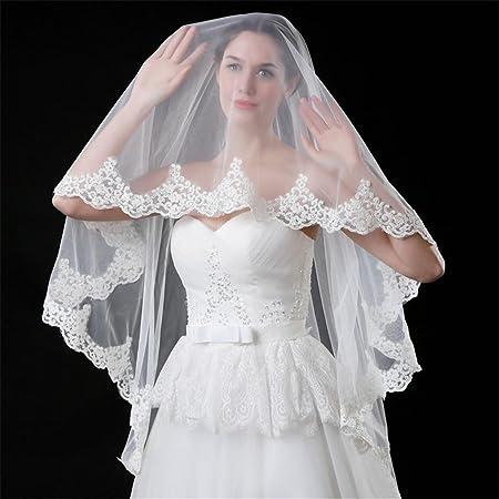 Robe marie voilee