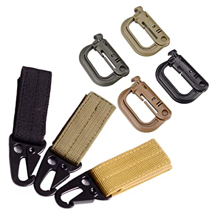Amazon com : LIOOBO 7pcs Outdoor Military Equipment Key