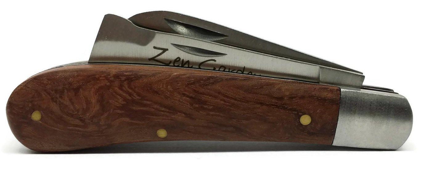 Zen Garden - Cuchillo para manualidades y bujías para zurdos y diestros, incluye guía práctica para manualidades y capas de aire: Amazon.es: Jardín