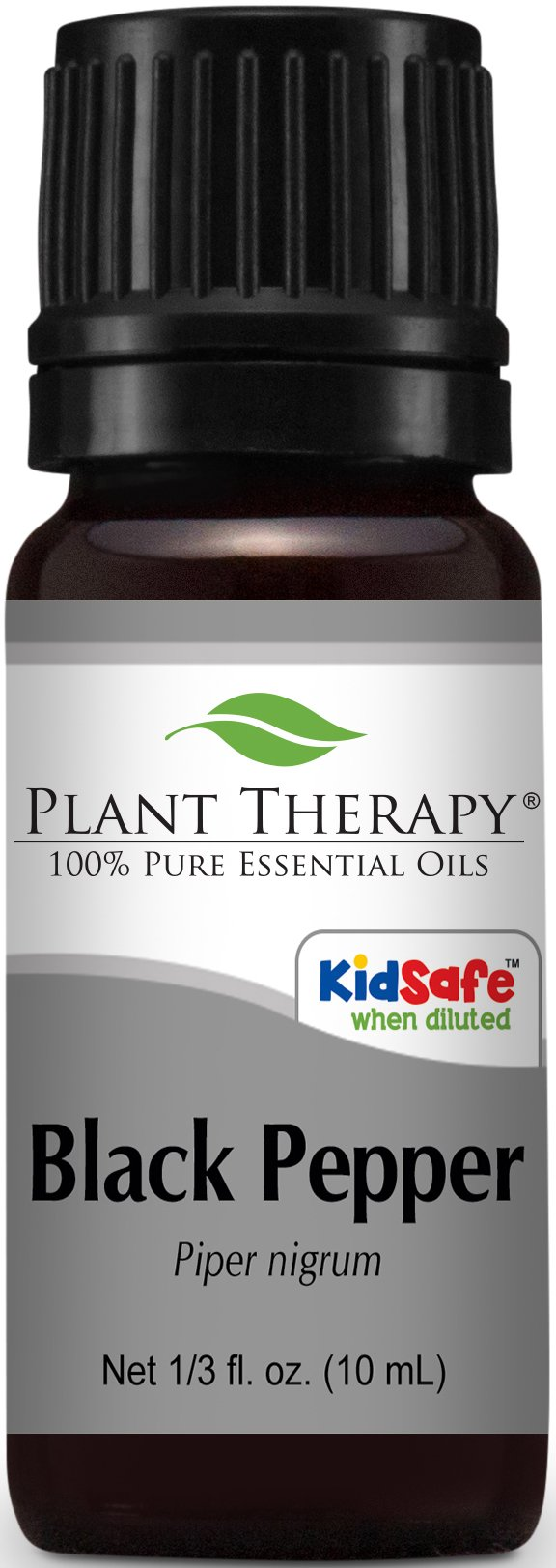 Plant Therapy Black Pepper Essential Oil. 100% Pure, Undiluted, Therapeutic Grade. 10 ml (1/3 oz).