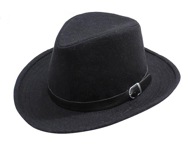 b5d4c22cc BSB LL Womens Floppy Wool Fedora Felt Hat With Wide Brim Many Styles