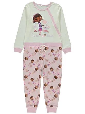 09d9a1b0457a Disney Girls Onesie Doc McStuffins   Lambie Pyjamas PJS Age s 2-7 ...
