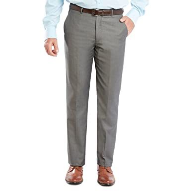 8f20e4e23 Sebastian Taheri Uomo Mens Slim Fit Dress Pants/Slacks Mid-Grey W30_L32