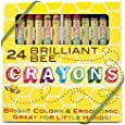 OOLY is now newly OOLY, Natural Beeswax Crayons, Set of 24 (133-50)