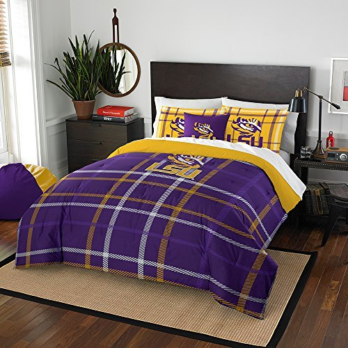 Lsu Tigers Full Comforter (Northwest NOR-1COL836000046BBB 76