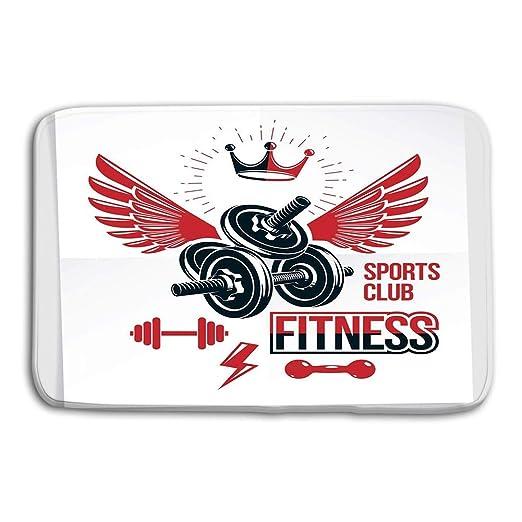 vbndgfhjd Doormat Indoor Outdoor Fitness Center Vector Marketing ...