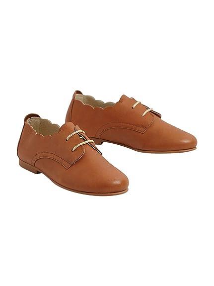 meilleure collection 50-70% de réduction grande sélection Cyrillus Derbies festonnés Fille: Amazon.fr: Chaussures et Sacs