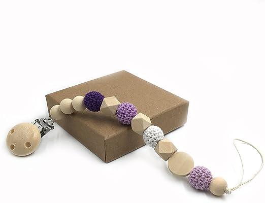 Coskiss Enfermera geométrica de madera de dientes ganchillo perlas ...