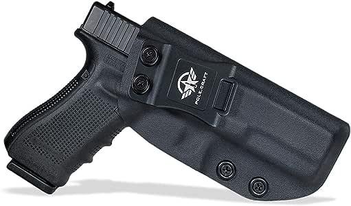 Amazon.com : IWB Kydex Holster Custom Fit: Glock 17 ...