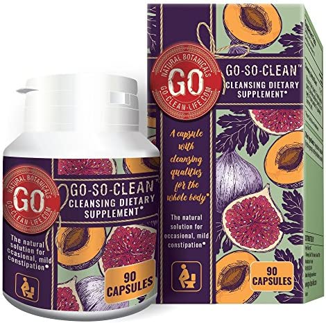Go So Clean Solution Cleanser Constipation Movement