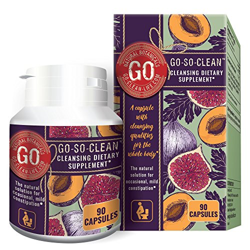 Go-So-Clean: Natural Solution Colon Cleanser for Constipation and Regular Bowel Movement (Best Diet For Regular Bowel Movements)