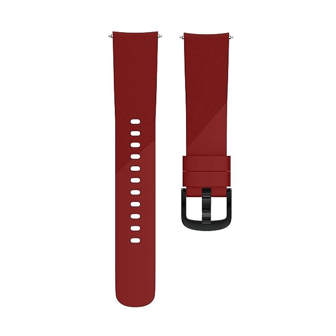 LANSKIRT Pulsera Grande de la Pulsera de la Correa de la Venda del silicón del reemplazo repuestos de Relojes Extensibles Pulsera para Ticwatch E: ...