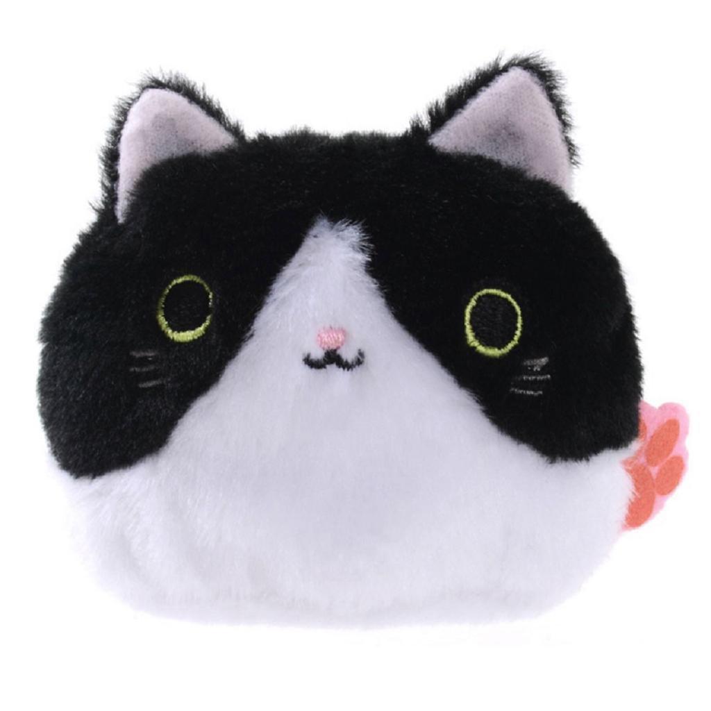Nankod Jouet en peluche, 3,15 x 3,15 pouces/8 x 8 cm, cadeau de poupée animal doux peluche chat mignon pour les filles garçons garçons, 3 cadeau de poupée animal doux peluche chat mignon pour les filles garçons garçons