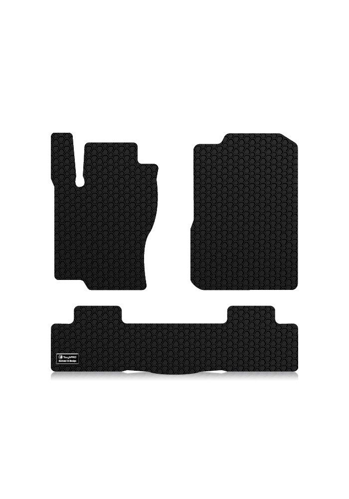 ToughPRO Mercedes-Benz ML350 Floor Mats Set AUTO MATS ZONE INC Heavy Duty -Black Rubber - 2012-2015 All Weather