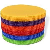 "Daju Classroom Spots | Pack of 30 Carpet Markers in 6 Colors | 4"" Diameter"
