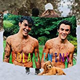 HOUSE AI LOVE The Dolan Twins Blanket Comfortable Cute Interesting Durable 3D Full-Frame Printing Bed Blanket Throw
