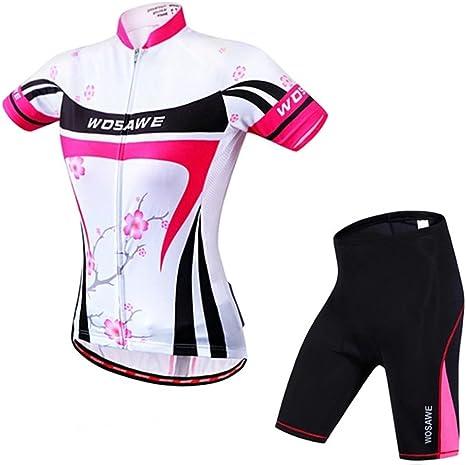 Ropa Ciclismo Traje de jersey de ciclismo para mujer ciclismo ...