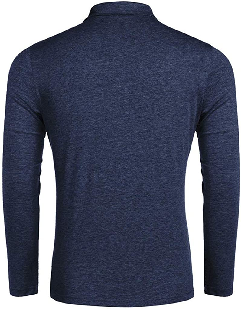 MNRIUOCII Herren Poloshirts Kurzarm Slim Fit Sommer T-Shirt Mens Polo Shirts Stretch Kurzarm Polohemd Polo Shirts Basic T-Shirt M/äNner Sport Tank Tops Hemden Sweatshirt F-Dunkelblau, XXL
