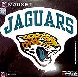"Jacksonville Jaguars ARCH Style Logo 12"" Magnet Heavy Duty Auto Home NFL Football"