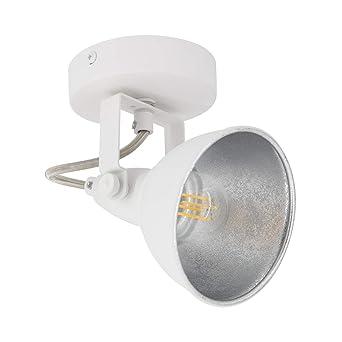 Aplique Orientable Emer 1 Foco Blanco Blanco efectoLED