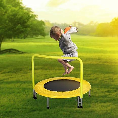Hahaha Ah Trampolino Elastico Tondo Pieghevole Per Bambini E Giovani