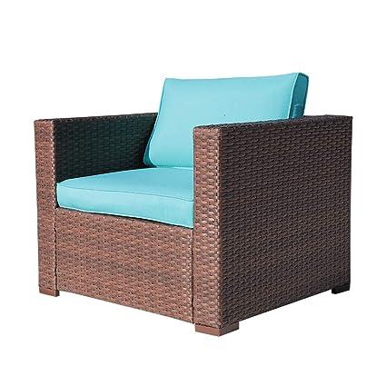 Amazon.com: OC - Juego de muebles de mimbre de mimbre para ...