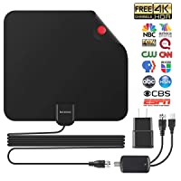 Deals on Kacososo Indoor HD TV Antenna 80 Miles Range