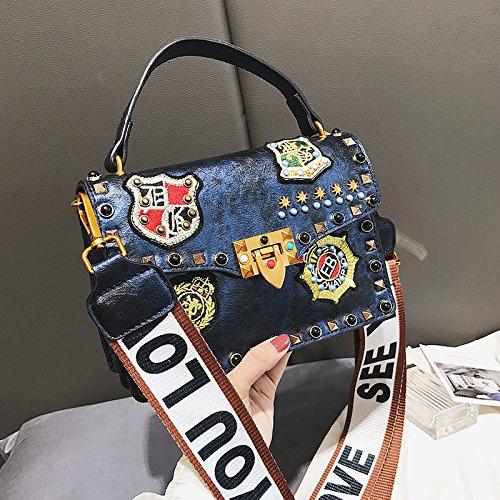 Of New Korean Korean Blue 2018 Handbag Handbag 2018 Version New xT1SwSg6Uq