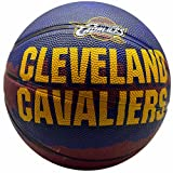 Spalding NBA Cleveland Cavaliers Team Colors And Logo Mini Basketball