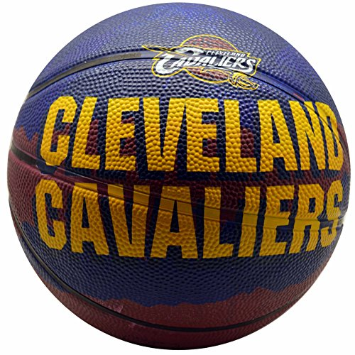 fan products of Spalding NBA Cleveland Cavaliers Team Colors And Logo Mini Basketball
