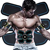 ourslife Abdominal Toning Belt Abdominal Muscle Toner EMS ABS USB Wireless For Abdomen/Arm/Leg Training Men & Women Workout Equipment Trainer (Abdominal Toning Belt)