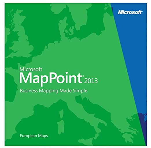 MapPoint European Maps – Prime Software Global