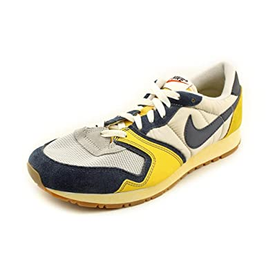 bd98181d00d NIKE Air Vengeance (Vintage) Neutral Grey Obsidian Yellow Trainers (429626  009)