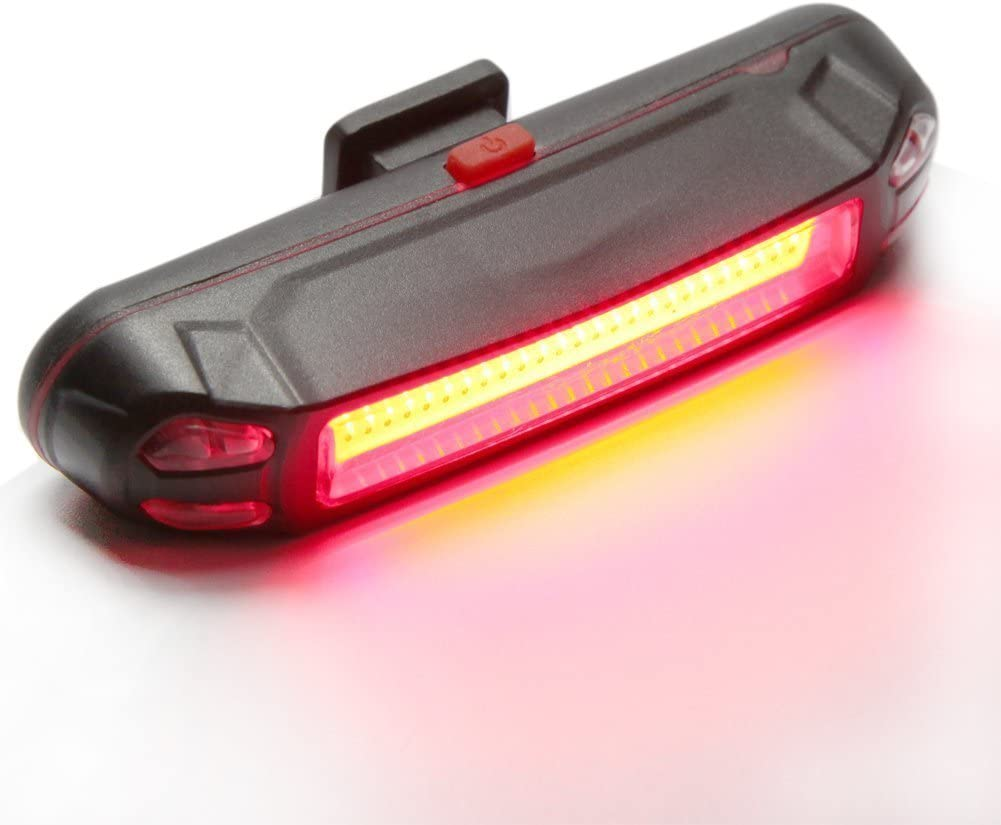 Bike Rear Tail Light USB Rechargeable LED Safety Light for Bicycle Waterproof