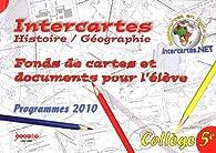 Histoire-Géographie 5e : Fonds de cartes et documents pour l'élève par Marie-Hélène Calmes