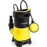 TROTEC Bomba Sumergible para Agua residuales TWP 4025 E (0,4 kW), MAX. 7500 l/h, 5 m Altura de impulsiòn MAX, Tamaño de…