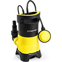 TROTEC Bomba Sumergible para Agua residuales TWP 4025 E (0,4 kW), MAX. 7500 l/h, 5 m Altura de impulsiòn MAX, Tamaño de Grano: 5 mm