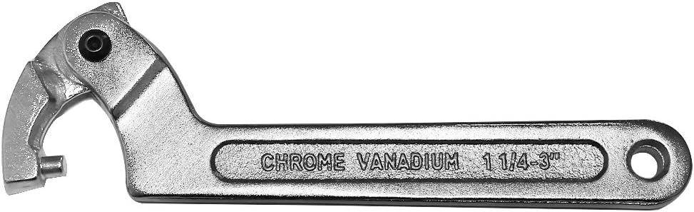 Homyl Cl/é /à ergot Cl/é universelle C Cl/é /à molette de pr/écision T/ête ronde 19-51mm
