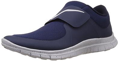 Nike 724851 400, Herren Free Socfly Blau, Blau blau