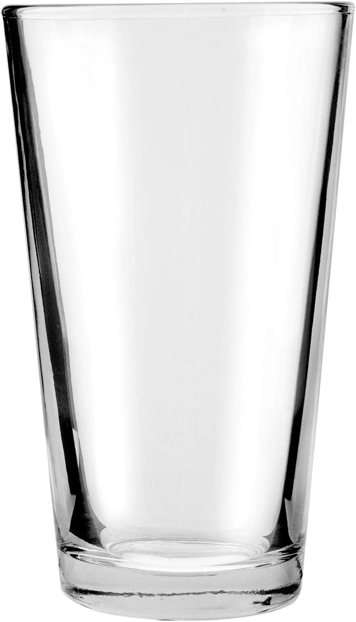 Anchor Hocking 176FU Anchor Hocking Glass Barware 16 oz. Mixing Glass; Case of 2 Dozen