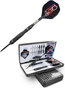 """Bottelsen Precision Grip Hammer Head Steel Tip 90% Tungsten Precision Grip Steal 25 Gram Dart, Black, 9/32"""""""