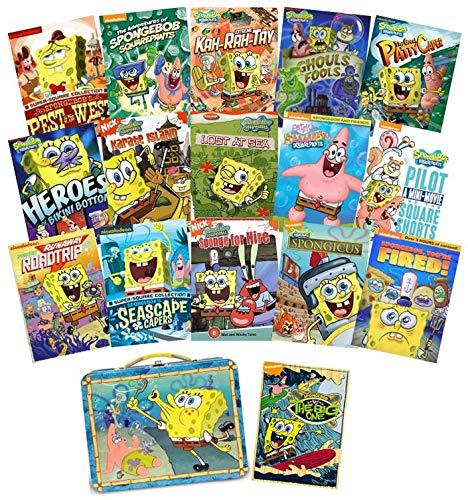 Series Spongebob Squarepants (Ultimate Spongebob Squarepants 16-DVD Nickelodeon Mega-Set Collection + Bonus Lunchbox)