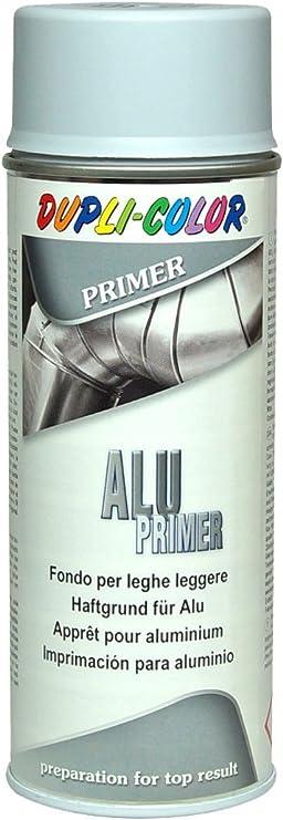 Aluminium Grau Spraydose Haftgrund Grundierung Farbe Lackspray Rostschutz 400ml Baumarkt