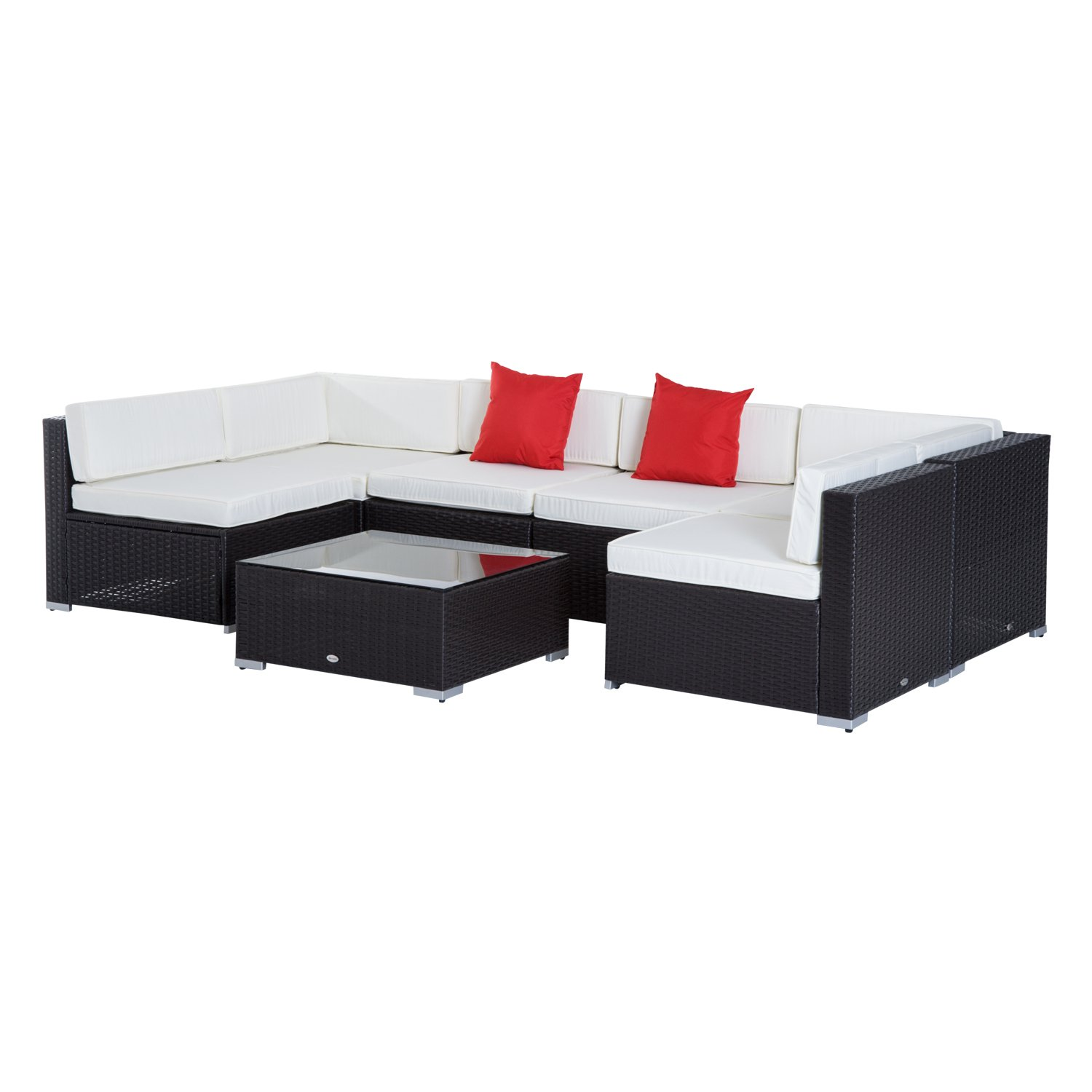Details about Cushion for Outdoor Furniture Clearance Large Sofa Set Patio  Backyard Couch NEW