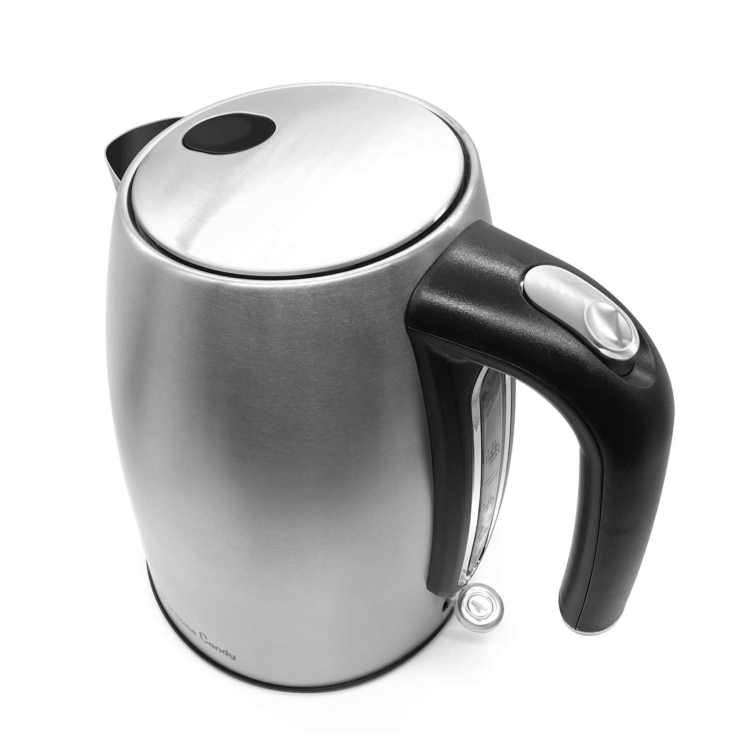 Fortune Candy KSK001 Stainless Steel Electric Hot Water Kettle - 1.8 Liter, Silver