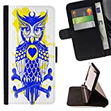 Cao - FOR Sony Xperia m55w Z3 Compact Mini - forward of the parrot - Personalized Design Custom Style PU Leather Case Wallet Flip Stand