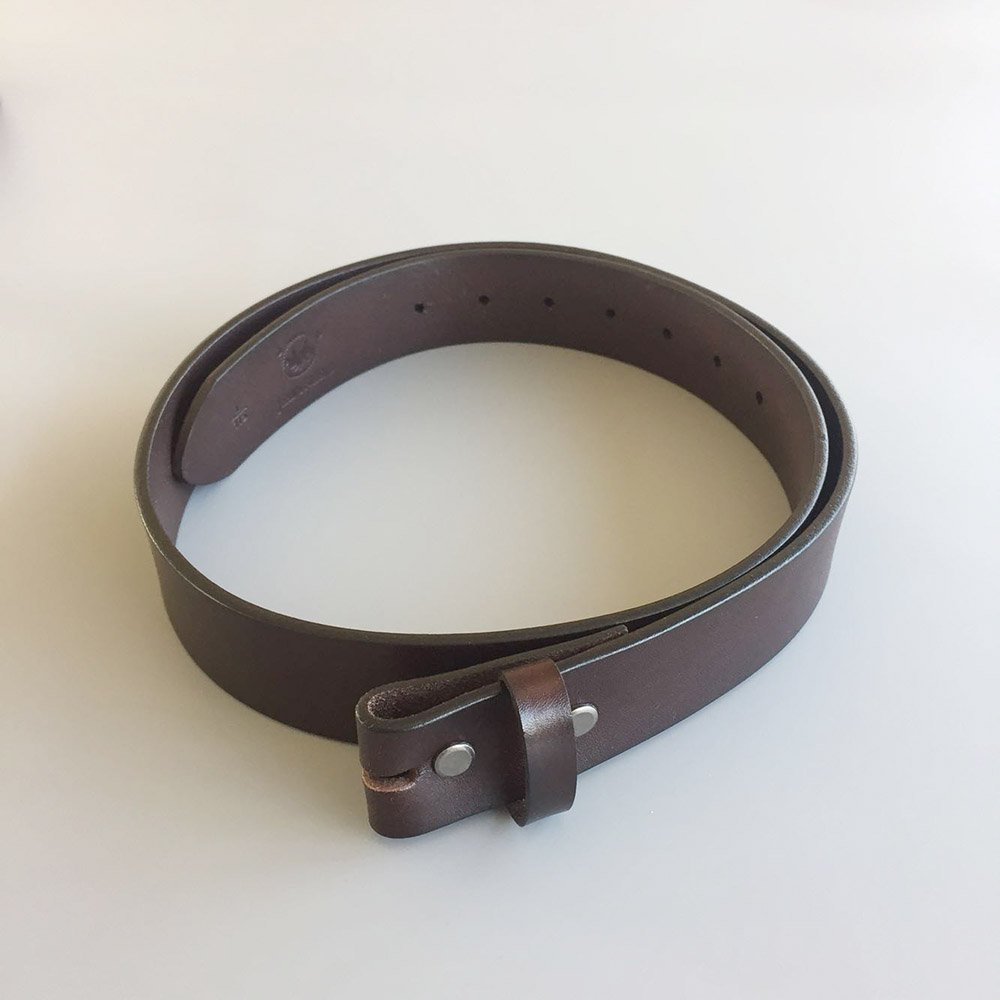 2XL 53 inch 135cm New Classic Dark Coffee Color Genuine Leather Belt Solid Real Leather Belt